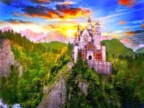 Neuschwanstein Castle Desktop Background